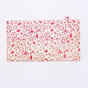 Lodis Wallet With Ivory and Pink Graphics